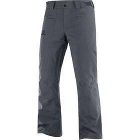 Salomon Brillant Pantalon Homme, gris
